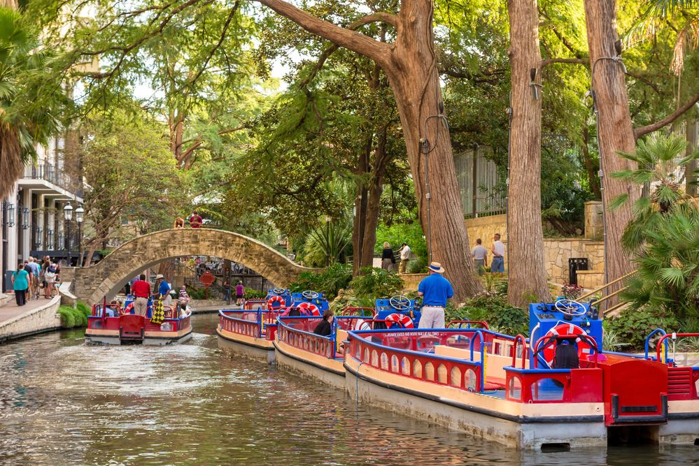 Need a break from strolling along the River Walk? Take an iconic river taxi down the stream to experience true San Antonio culture.