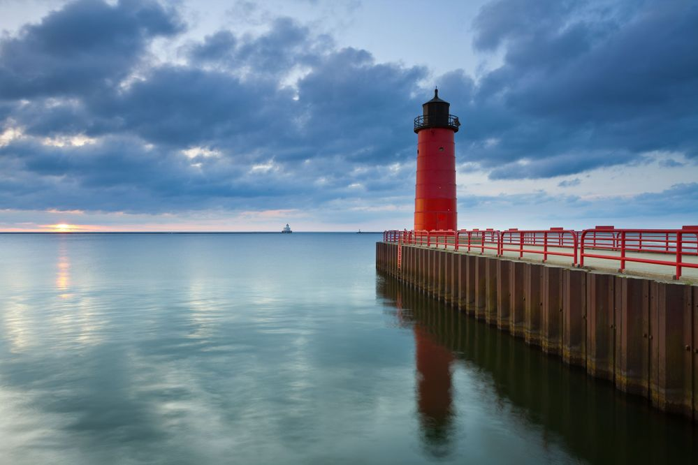 Spend some time strolling around Milwaukee to see some of the best views of Lake Michigan.